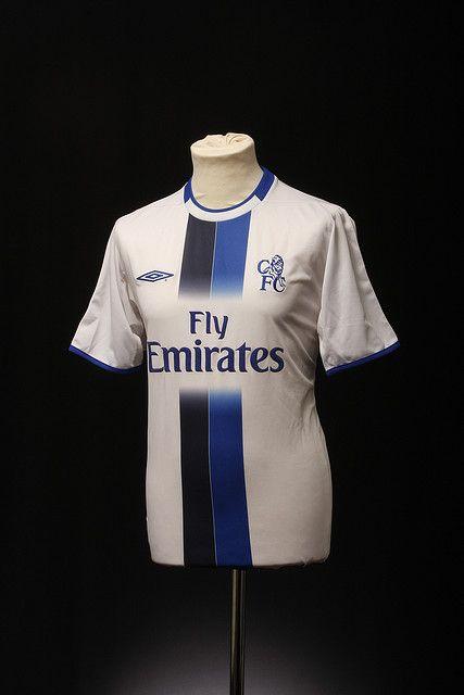 Chelsea Football Shirt (Away, 2003-2005)   Chelsea football shirt ...