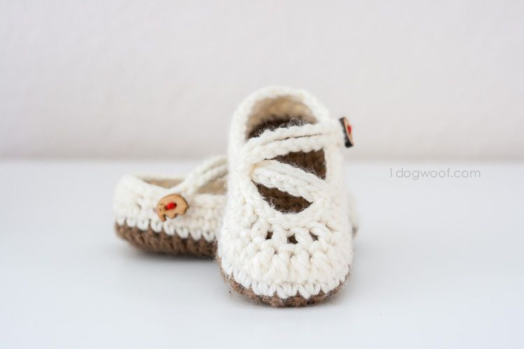 Double Strapped Baby Mary Janes Crochet Pattern | Bebé, Zapatos y ...