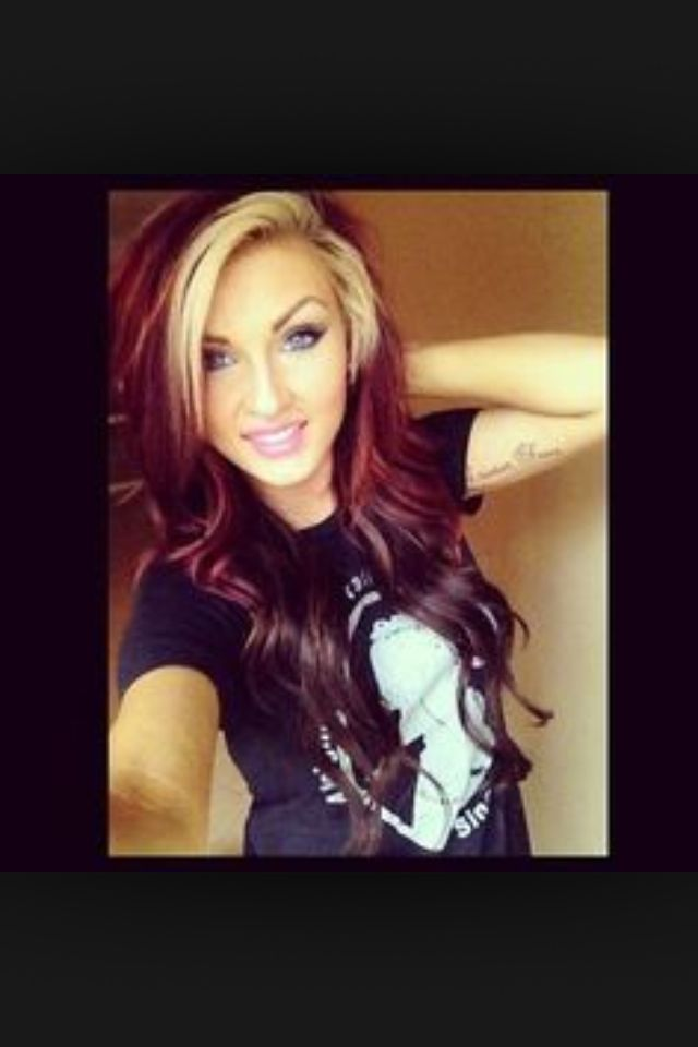 Love This Too Red Hair With Blonde Highlights Hair Color