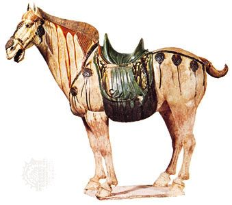 China Foreign Affairs Under Yangdi China Art Art Horse Art