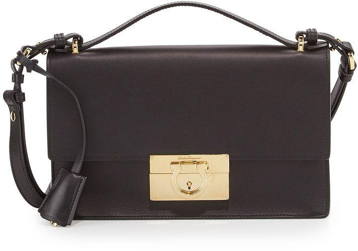 1102f3911794 Salvatore Ferragamo Aileen Leather Shoulder Bag