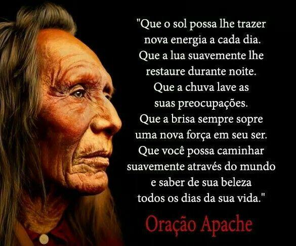 Oracao Apache Com Imagens Frases Motivacionais Mensagens