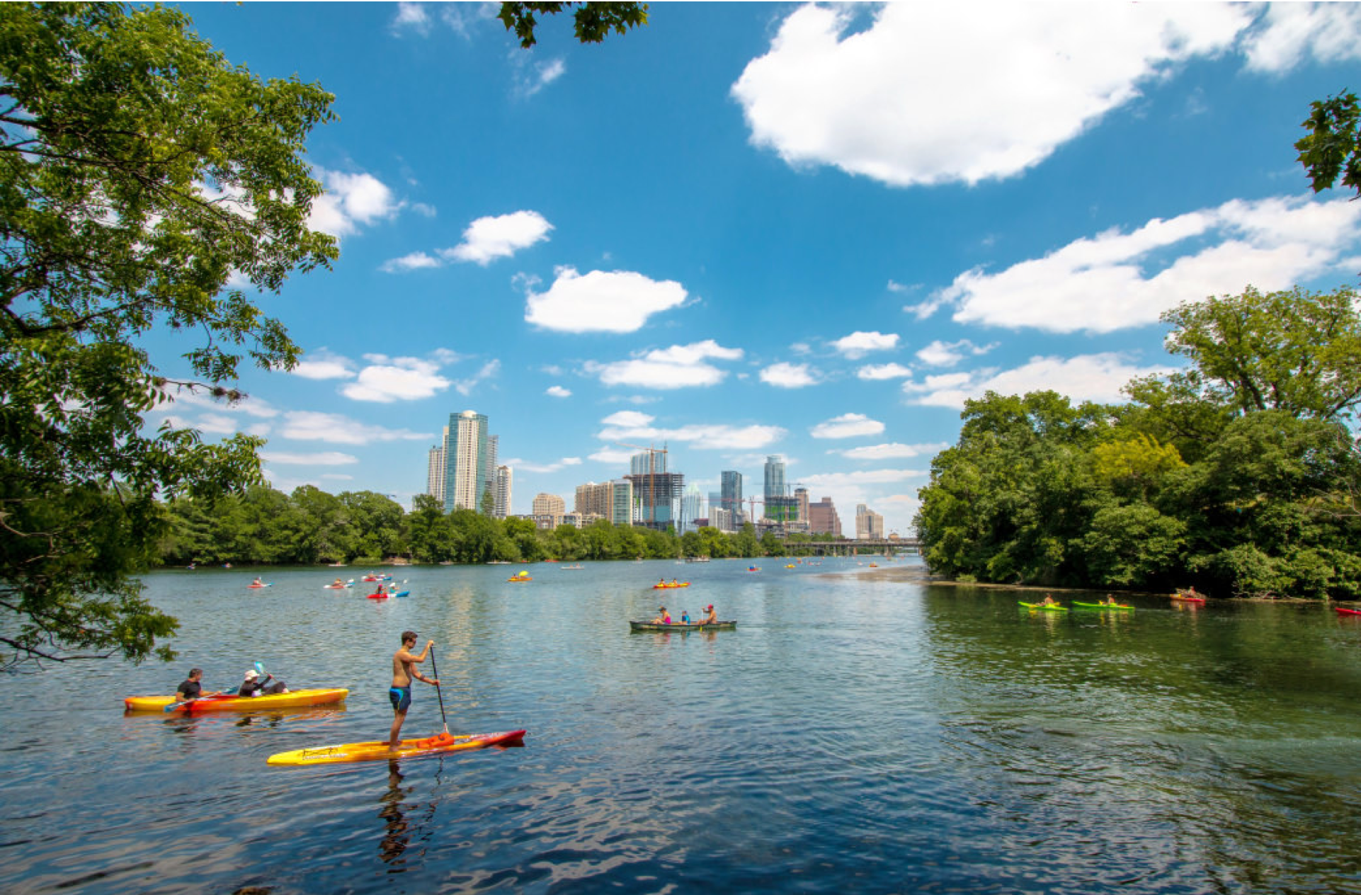 Your Guide To Paddling Lady Bird Lake Austin Insider Blog Lady Bird Lake Austin Lady Bird Lake Weekend In Austin