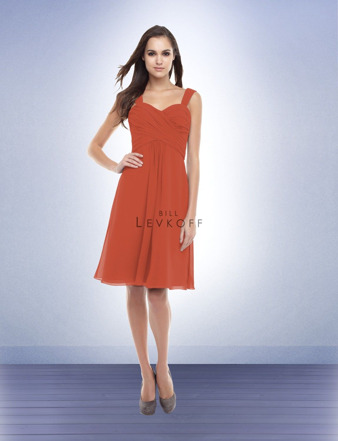 Bridesmaid dress style 155 terracotta color bill levkoff bridesmaid dress style 155 terracotta color bill levkoff ombrellifo Images