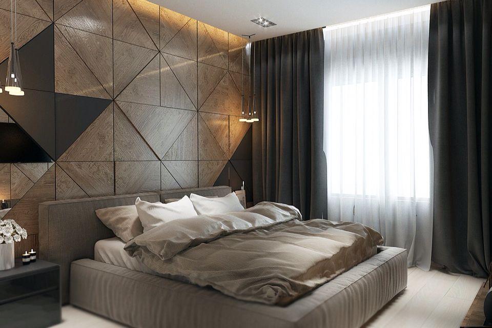 mesmerizing bedroom wall interior design | Bed room on Behance | Hotel Room | Dormitorios, Decoracion ...
