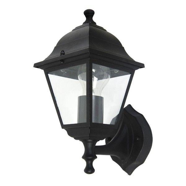 Lima ii exterior upward facing wall bracket in black outdoor house lightsoutdoor lightinglighting ideasbeacon