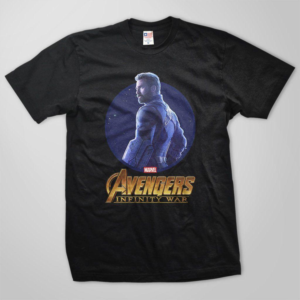 Avengers infinity war captain america tshirt captain