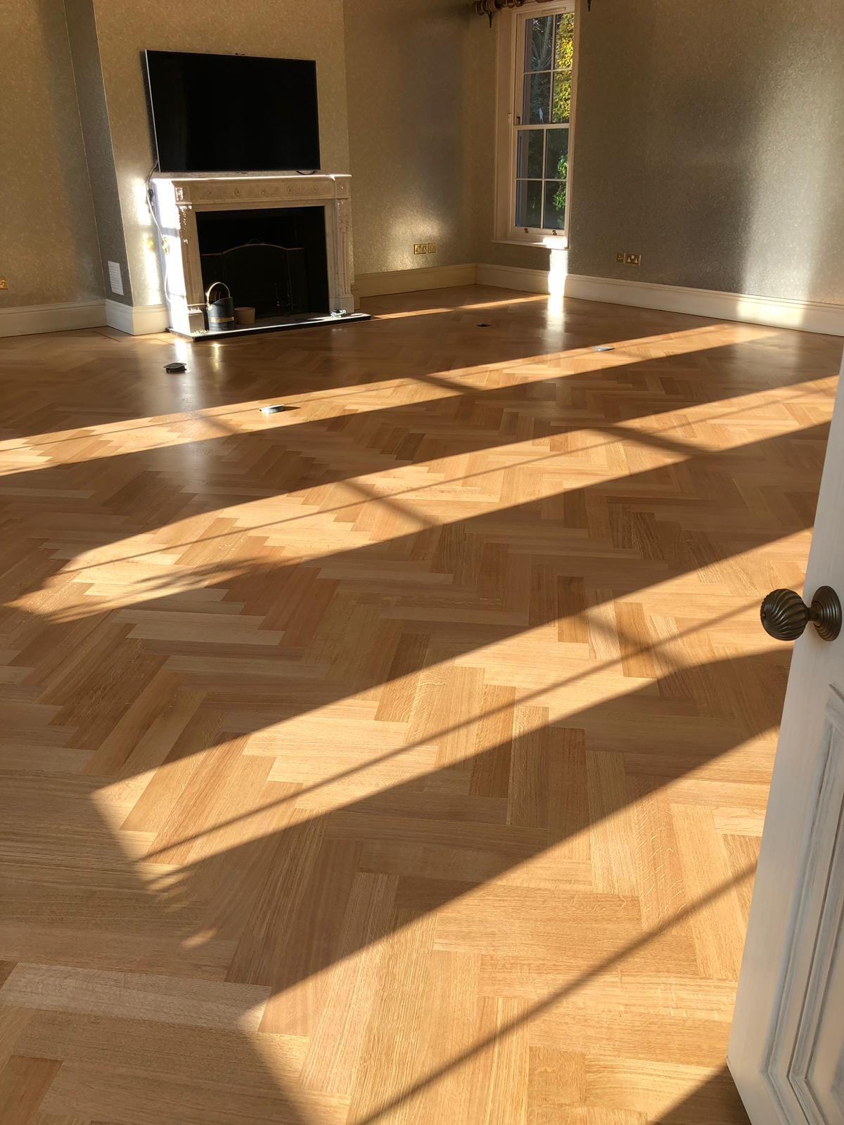 Oak Parquet Herringbone Wood Floor Flooring Herringbone Wood Wood Floors