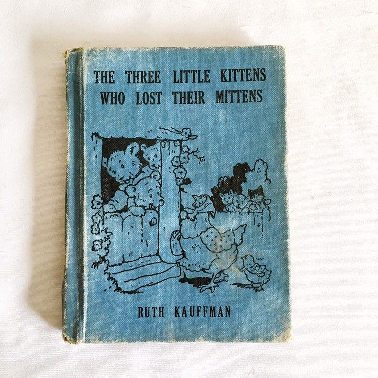 Three Bedtime Stories Cats Illustration Garth Williams Cat Art