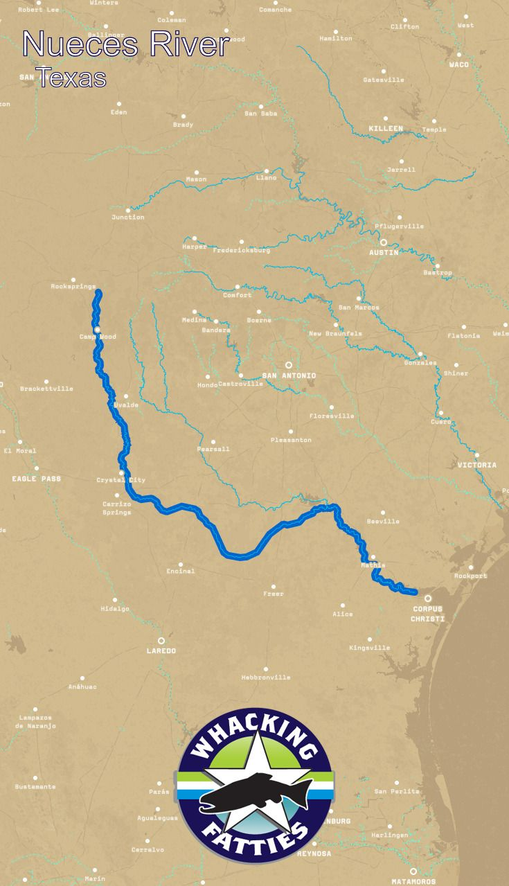 Nueces River Report     Fly , report ... on