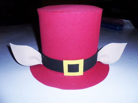 como hacer sombreros locos para fiestas  dfe7b146810