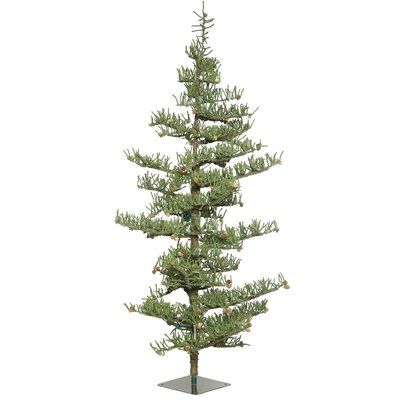 The Holiday Aisle 75\u0027 Green Pine Artificial Christmas Tree witth