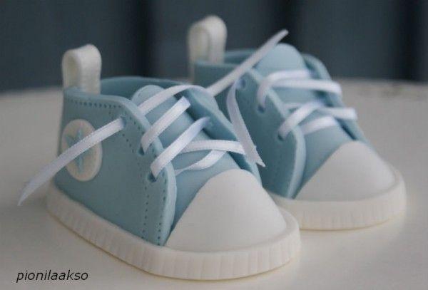 chaussure converse en pate a sucre