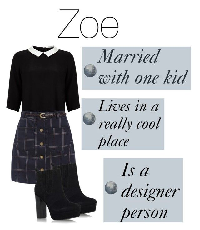 """Zoe"" by quirkynerdygeeky ❤ liked on Polyvore featuring Lipsy, Miss KG and MOROSO"