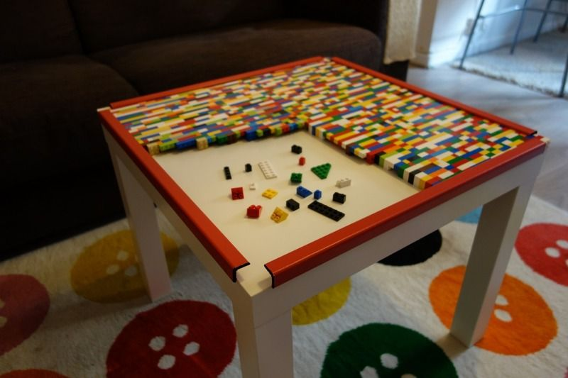 fabulous with table basse lego. Black Bedroom Furniture Sets. Home Design Ideas
