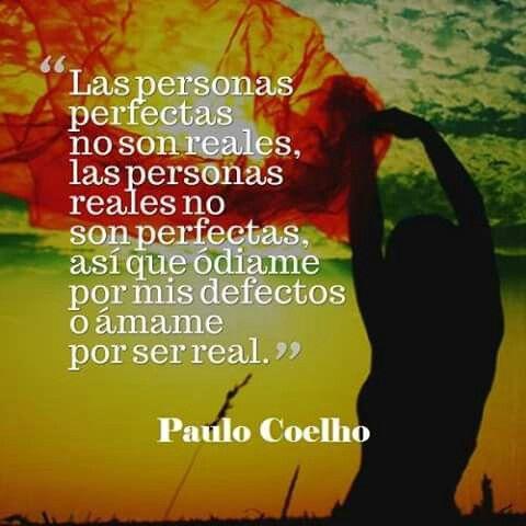 Las personas...Paulo Coelho