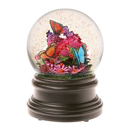 Snow Globe Dolphin Hawaiian Design 65 MM