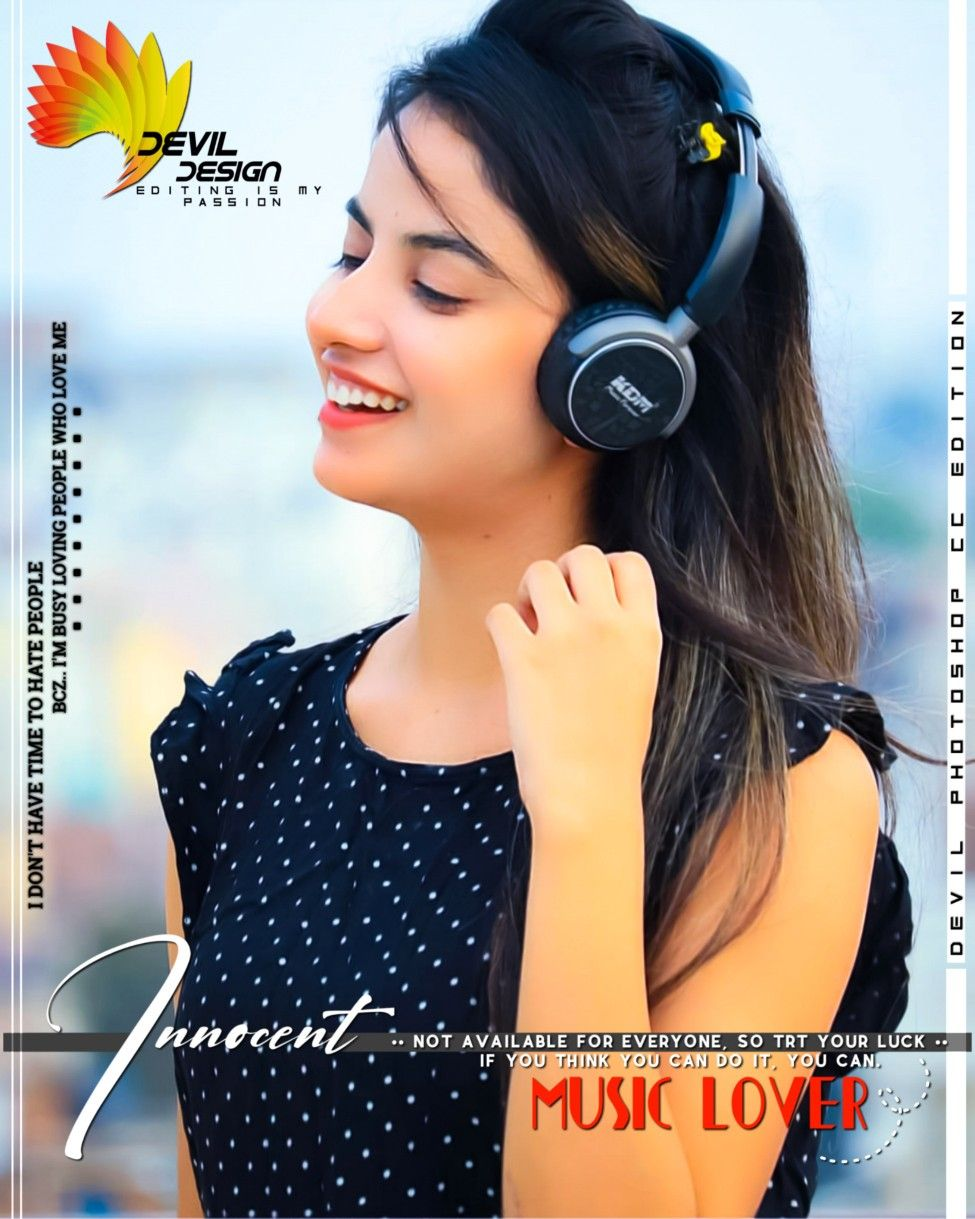 Pin By Sajid Iqbal On Edited Dps Stylish Girl Images Music Lovers Girls Image