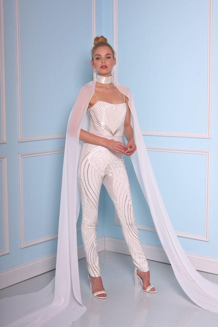 1001 ideen f r jumpsuit hochzeit erscheinen sie in gutem stil wedding. Black Bedroom Furniture Sets. Home Design Ideas