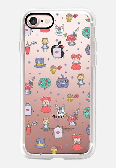 Casetify iPhone 7 Case and Other iPhone Covers - Alice in ...