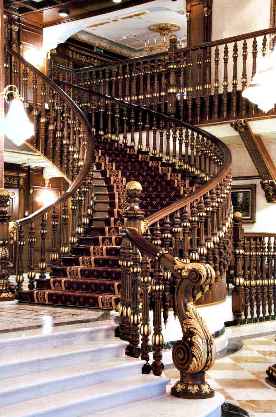Up or down... with glamour | escaleras | Pinterest | Escalera