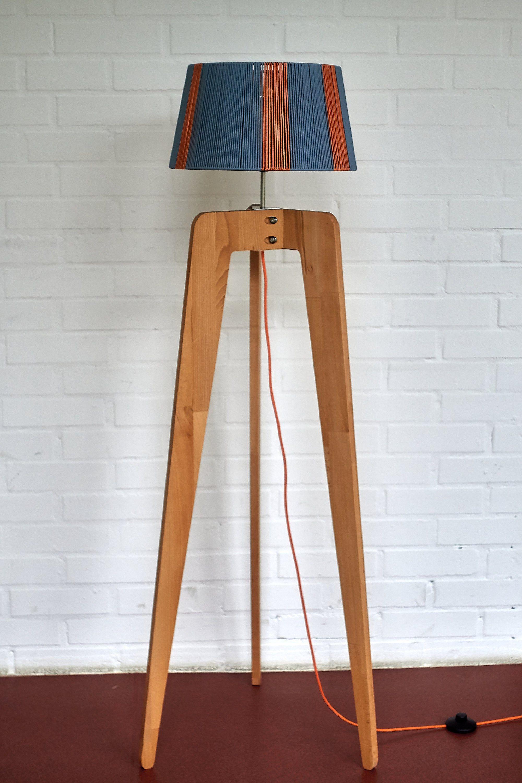 Tripod Floor Lamp Danish Modern Lighting Unique Designer Etsy In 2020 Stylish Floor Lamp Lamp Wooden Floor Standing Lamp