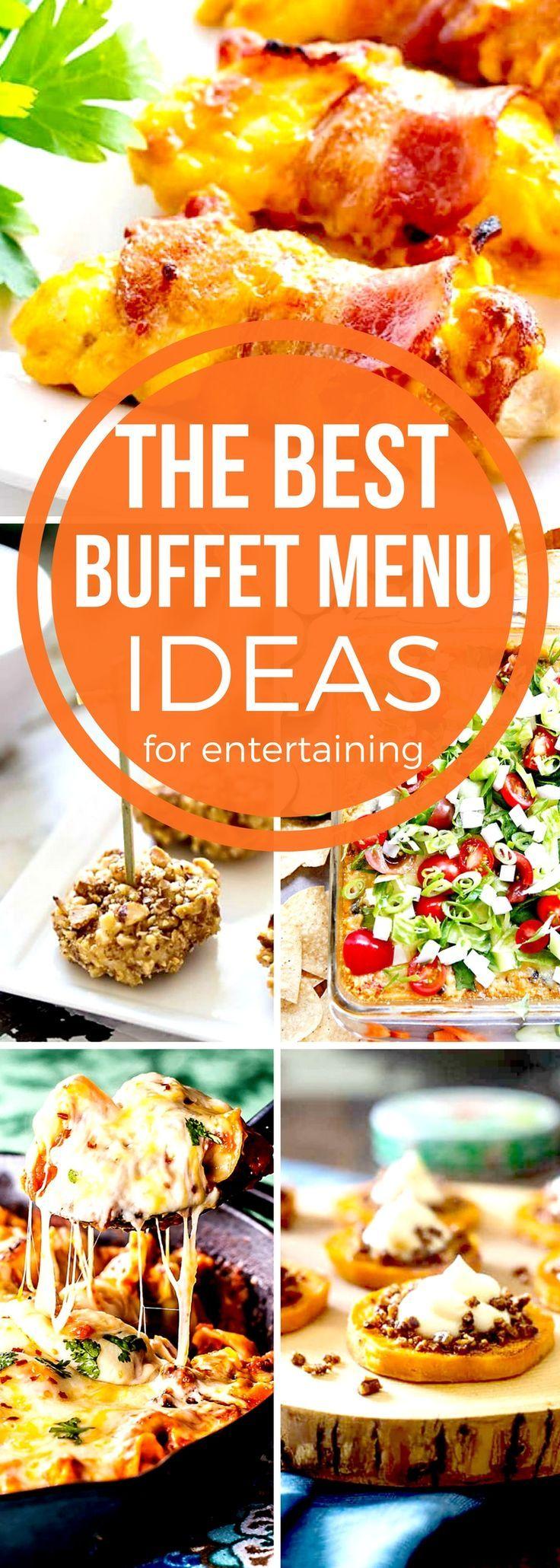 Buffet Menu Ideas #SundaySupper | Holiday party menu, Dinner buffet ideas, Appetizer recipes
