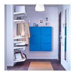 TRONES Scarpiera/elemento contenitore - blu - IKEA