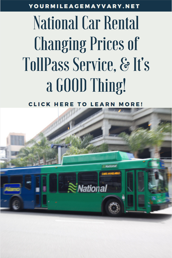 National Rental Car Hire Tollpass Price Changing Toll Pass