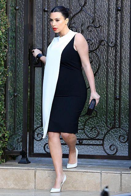 1fe40c52dcc Kim Kardashian s maternity style  her best pregnancy looks (The ...