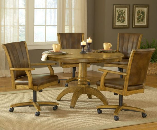 40++ Dining room set with chairs on wheels Various Types