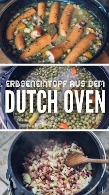 Photo of Outdoor Kitchen 10 | Pea stew from the Dutch Oven