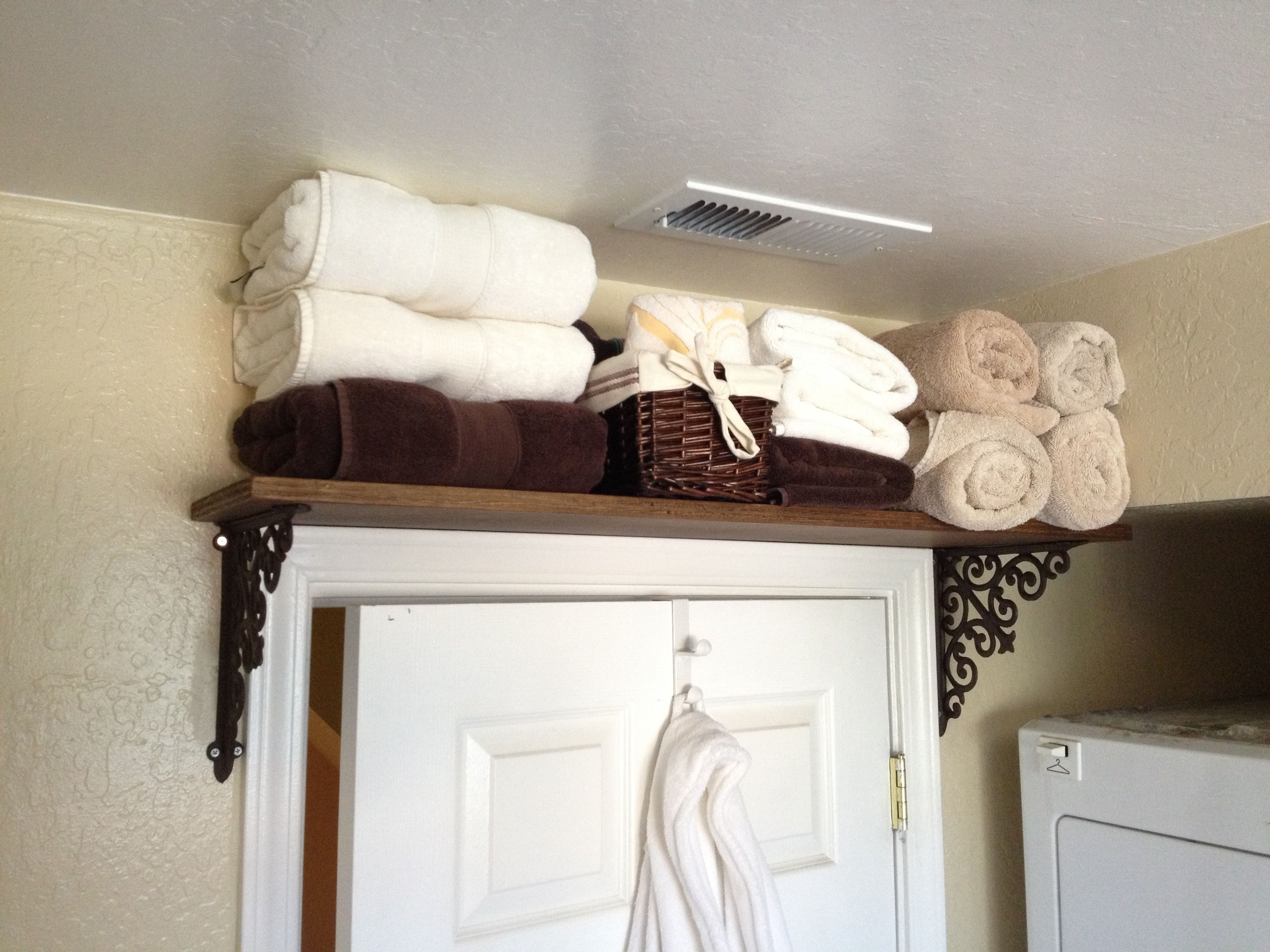 Pin By Melody Miser Varghese On Keeping Life In Order Bathroom Cleaning Hacks Tiny Closet Organization No Closet Solutions