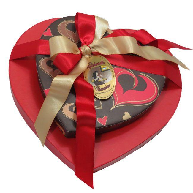 Valentine S Day Dark Chocolate Heart Tower 35 Pc Chocolate