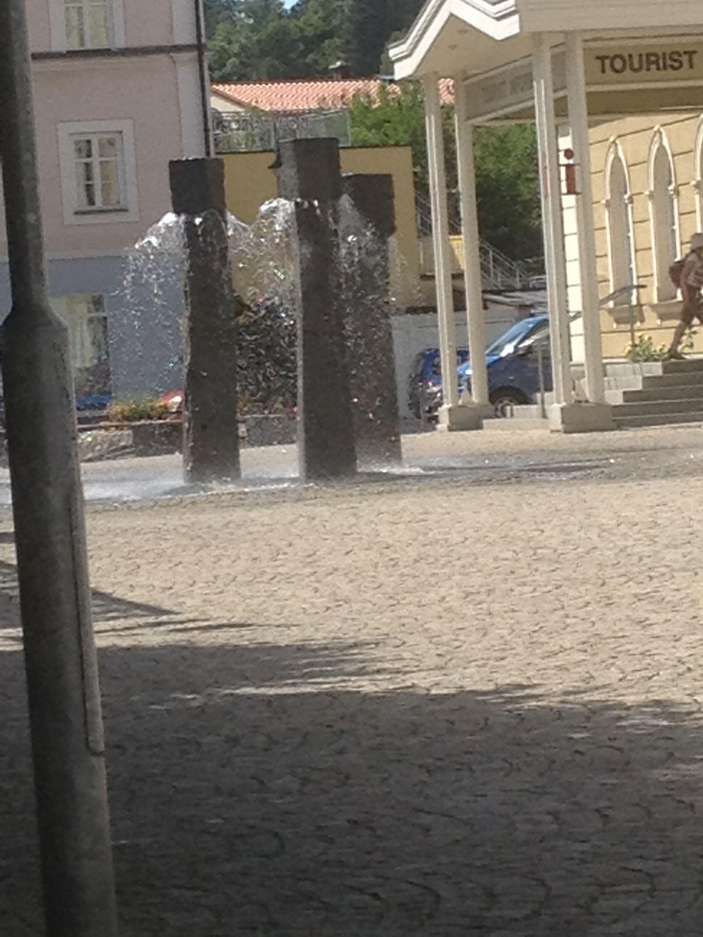 Wasserspiel in Füssem