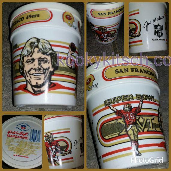 Vintage 1981 Joe Montana San Francisco 49ers by kookykitsch