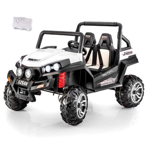 Toddler Remote Control Car: Big 4WD Trail Cat Ride On UTV Side X Side W/ Remote