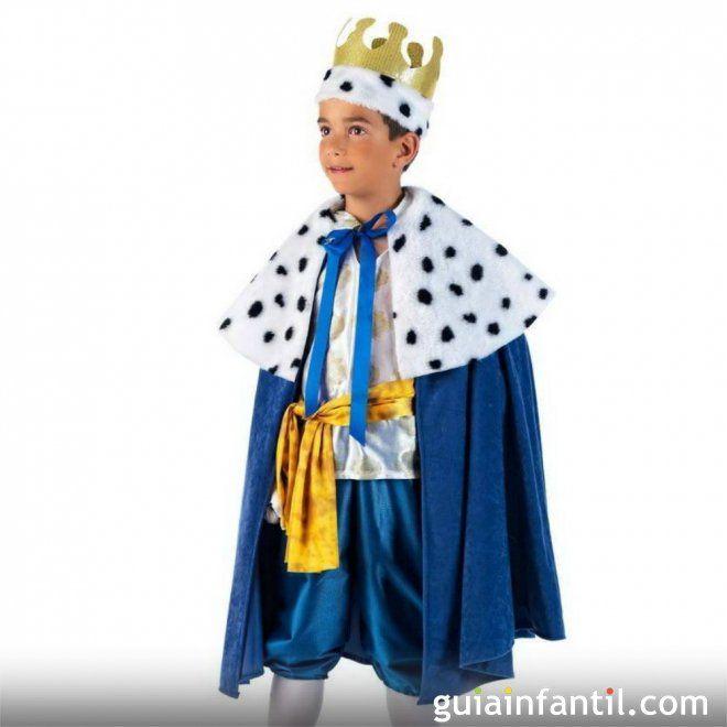 Disfraz de rey mago disfraces de navidad para los ni os - Disfraces para navidad ...