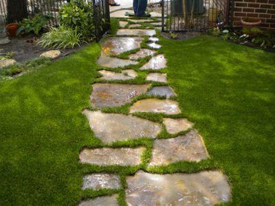 Garden Design Artificial Turf