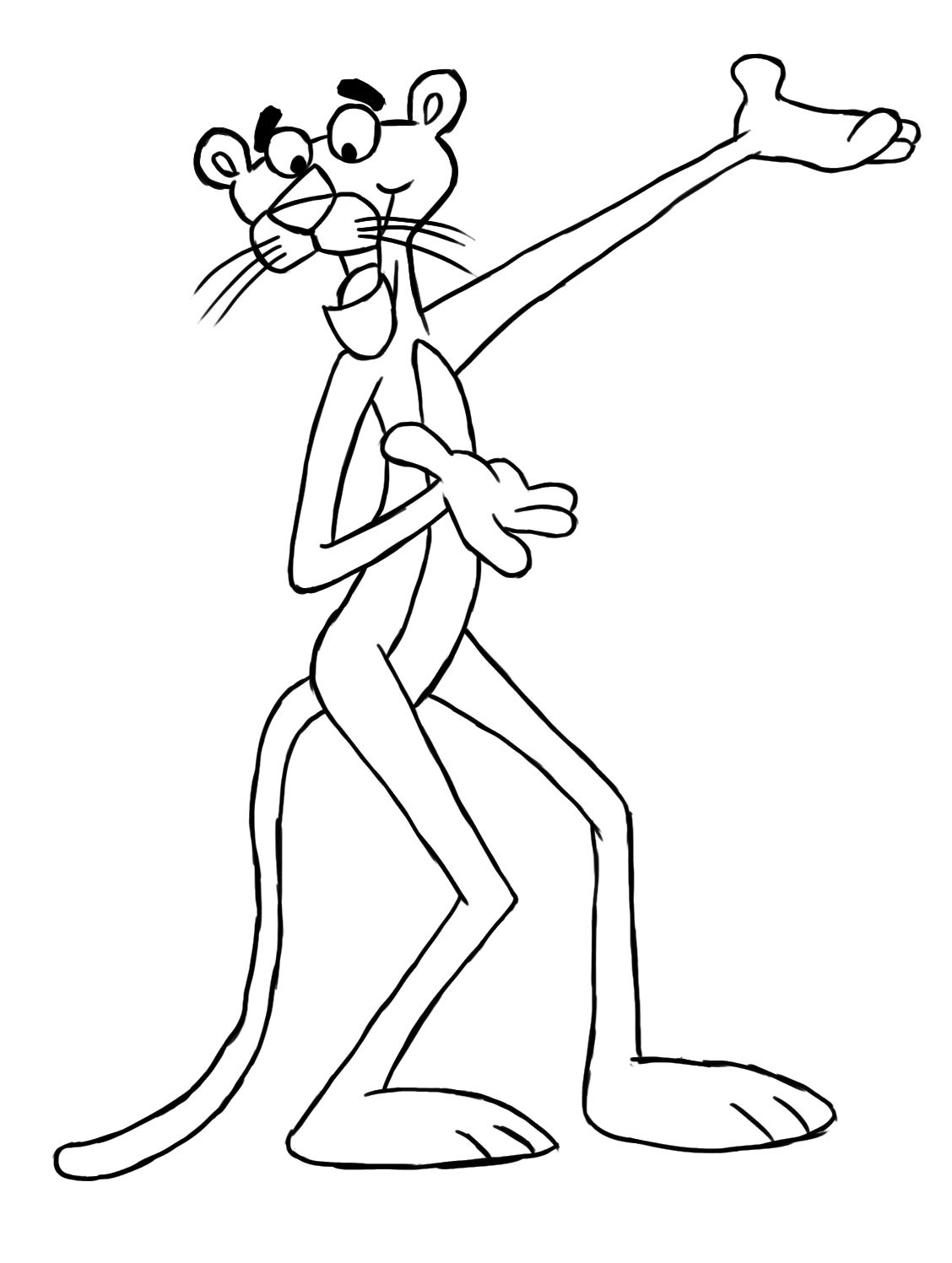 How To Draw The Pink Panther Pink Panther Cartoon Pink Panter Pink Panthers