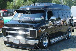 Chevrolet 1985 Chevy Van Lwb