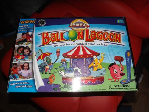 2004-2005-CRANIUM-BALLOON-LAGOON-IN-GOOD-CONDITION