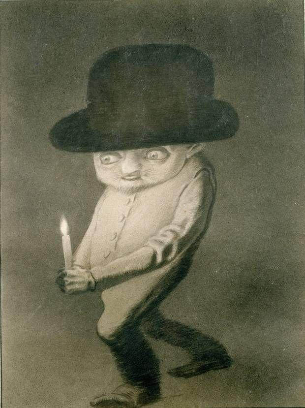 Alfred Kubin - The Elf (1901 - 1902)
