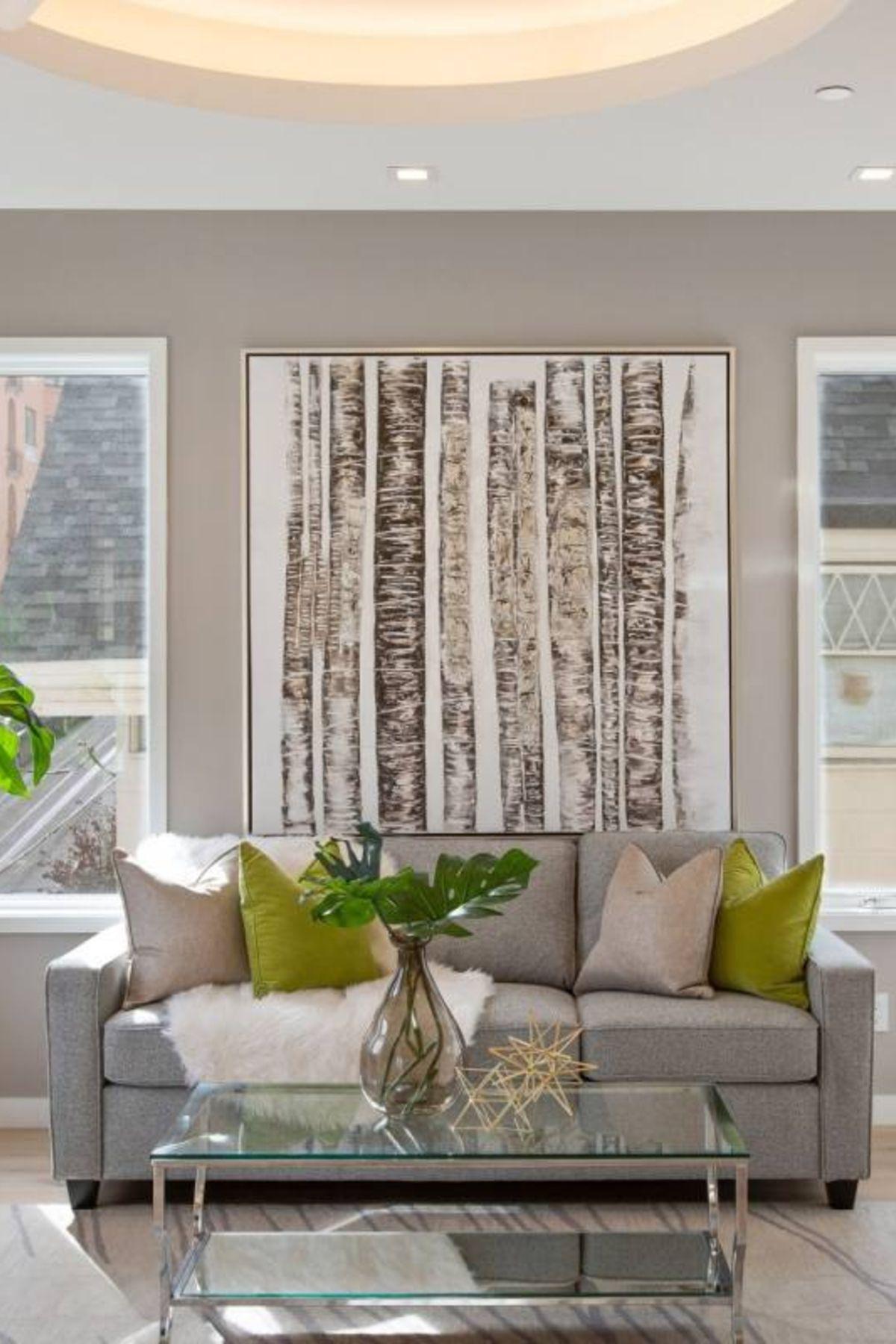 51 Neutral Living Room Decor Ideas Green Living Room D