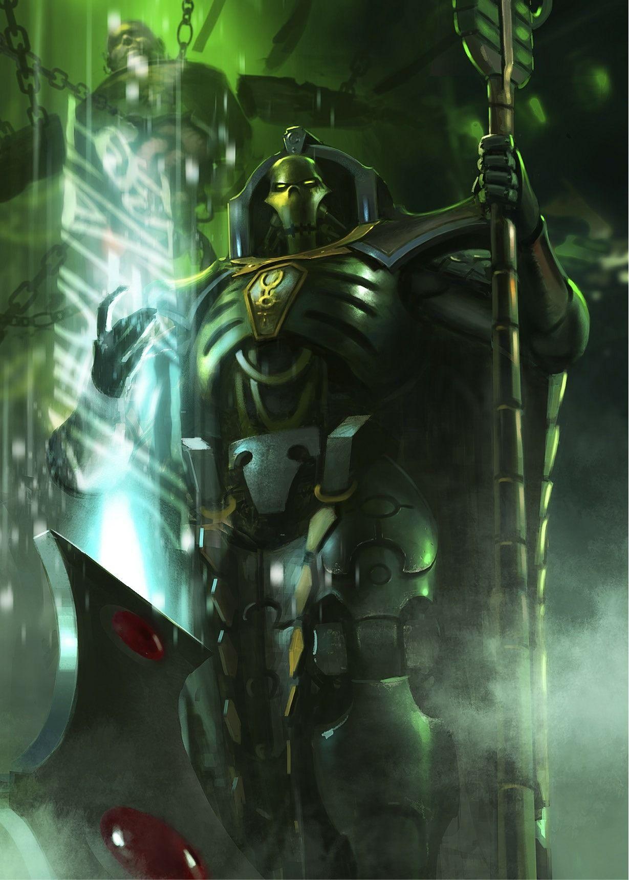 Warhammer 40k Artwork Photo Warhammer Warhammer 40k Necrons Necron