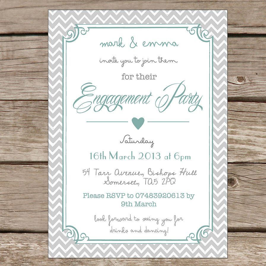 word engagement party invitation templates