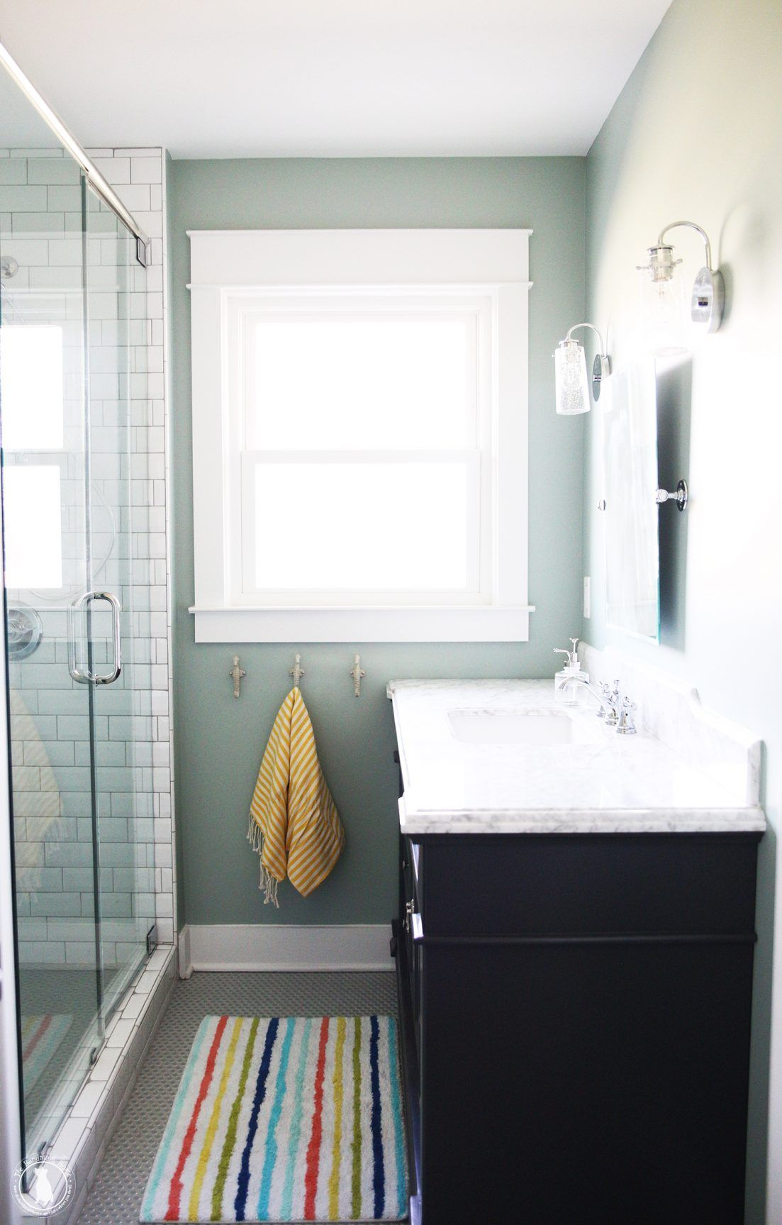 sisco hallway bath redo - The Handmade Home | Bathrooms | Pinterest ...