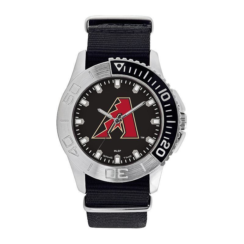 Men's Game Time Arizona Diamondbacks Starter Watch, Black