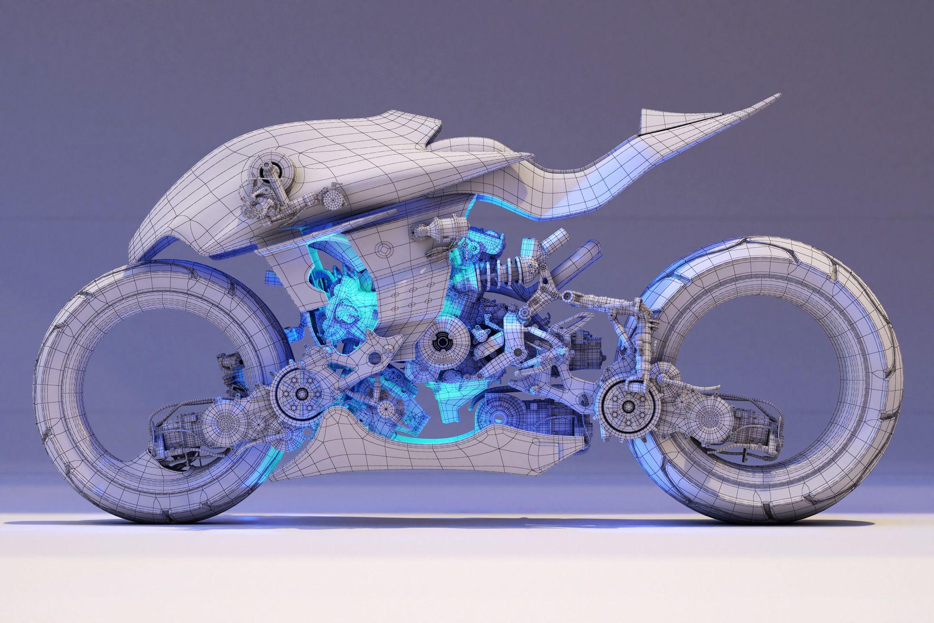 Artstation Concept Bike Ying Te Lien Concept Motorcycles