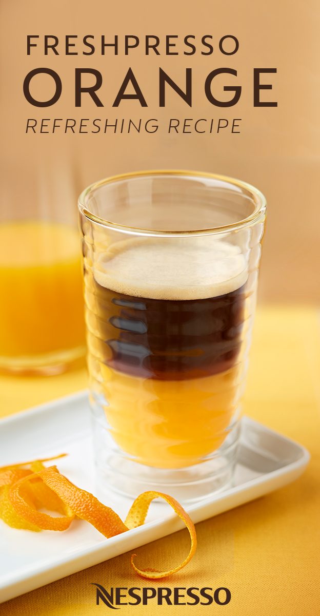 A Dash Of Orange Juice And A Hint Of Vanilla Are All You Need To Upgrade Your Morning Cup Of Coffee Try Out This Freshpresso Or Resep Minuman Resep Kopi Resep